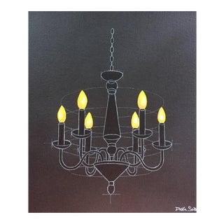 "Original ""Light II"" Acrylic on Canvas"