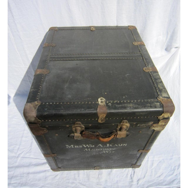 Vintage Steamer Trunk - Image 3 of 7