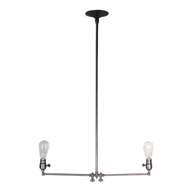 Gas Pendant Fixture (2-Light) - Image 1 of 6