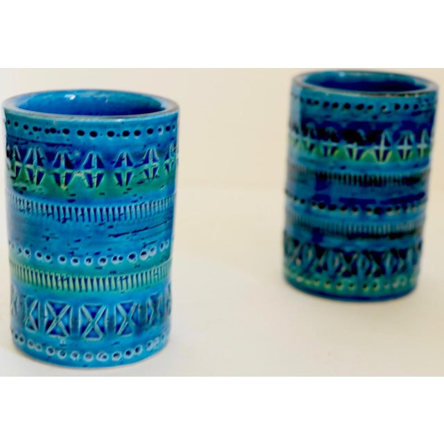 1970s 1970s Diminutive, Flavia Montelupo, Bistossi Vases - a Pair For Sale - Image 5 of 8