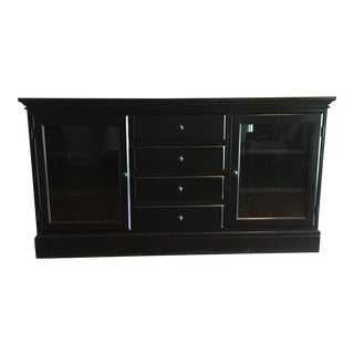 Pottery Barn Black Tucker Buffet