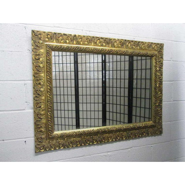 Gold Gilt Rectangular Mirror - Image 5 of 5