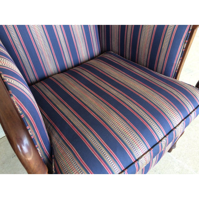 Southwood Mahogany Accent Chairs - a Pair For Sale - Image 10 of 11