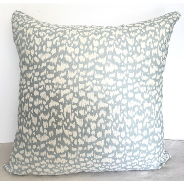 Lulu DK Designer Pillow Cover For Sale - Image 4 of 4
