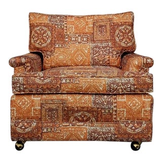 1960's Boho Chic Lounge Chair For Sale
