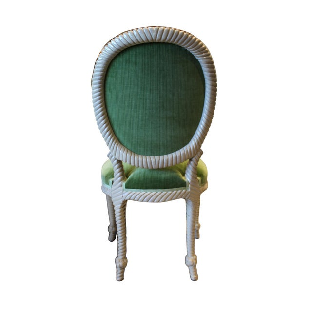 1980s Mid-Century Rope Chairs - Set of 6 For Sale - Image 5 of 6