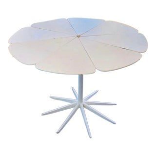 1980s Mid-Century Modern Knoll Richard Schultz Petal Dining Table For Sale
