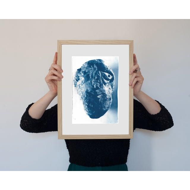 Cyanotype Print - Rock Face Sculpture - Image 4 of 5