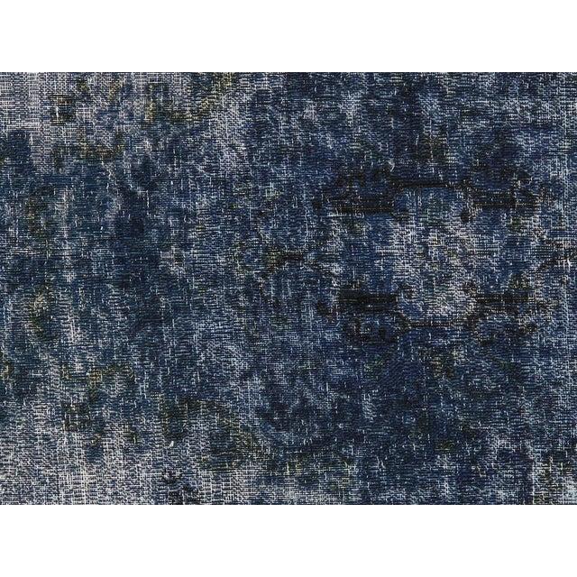 "Vintage Blue Overdyes Rug - 8' 10"" X 12' 6"" - Image 2 of 5"