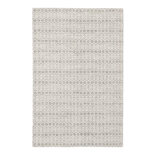 Jaipur Living Calliope Handmade Trellis White & Gray Area Rug - 2'x3' For Sale
