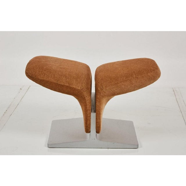 1960s Ribbon Chair and Matching Ottoman by Pierre Paulin for Artifort For Sale - Image 5 of 7