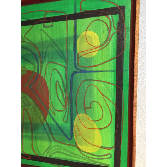 Mid-Century Modern Barbara Blume Abstract Painting - Image 4 of 8