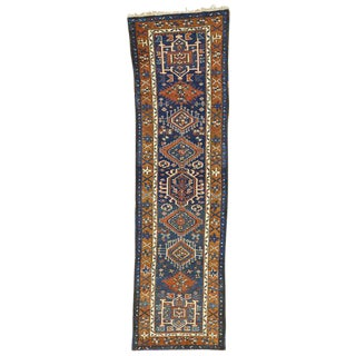 20th Century Persian Karaja Heriz Runner - 2′7″ × 9′2″ For Sale
