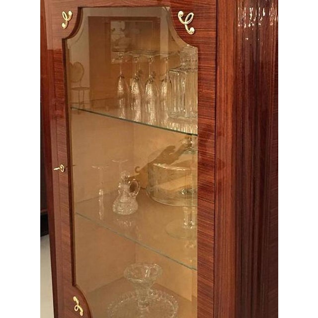 1930s French Art Deco Vitrine For Sale - Image 4 of 4