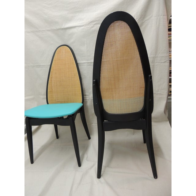 Stakmore Mid-Century Folding Chairs - A Pair - Image 6 of 8