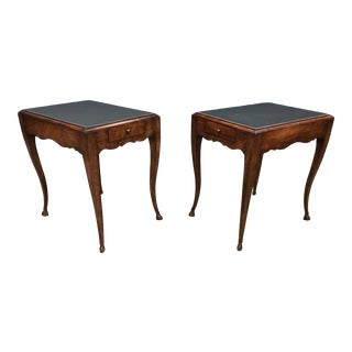 Baker Milling Road End Tables - a Pair For Sale