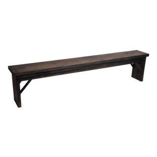Reclaimed Teak Wood Bench For Sale