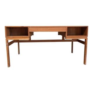 1950s Mid-Century Modern Arne Wahl Iversen for Vinde Mobelfabrik Rosewood Executive Desk
