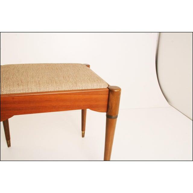 Danish Modern Sewing Storage Stool - Image 10 of 11