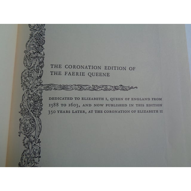 Vintage Coronation Edition of the Faerie Queene Book For Sale - Image 4 of 6