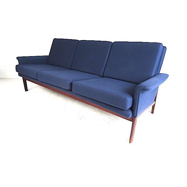 Vintage Danish Sofa by Finn Juhl for France & Son For Sale - Image 12 of 12