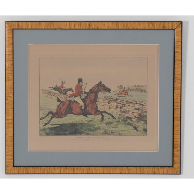 Wood 1825 English Hunting Prints by Henry Alken, London - Set of 6 For Sale - Image 7 of 12
