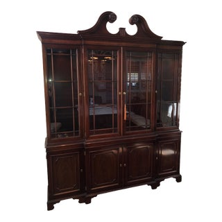 Kindel China Cabinet & Buffet For Sale