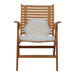 Iconic Vintage Folding Rex Lounge Chair by Niko Kralj For Sale