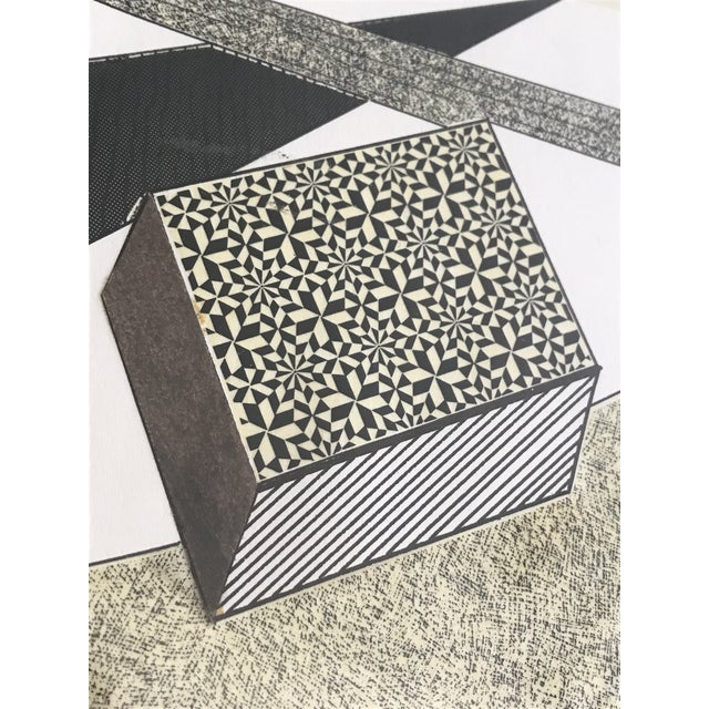 Gray Paul Smith Geometric Compilation For Sale - Image 8 of 9