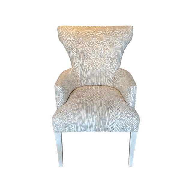 """26 1/2""""W x 28""""D x 40""""H Arm Height 26"""" Seat Height 20"""" Pearl Finish"""