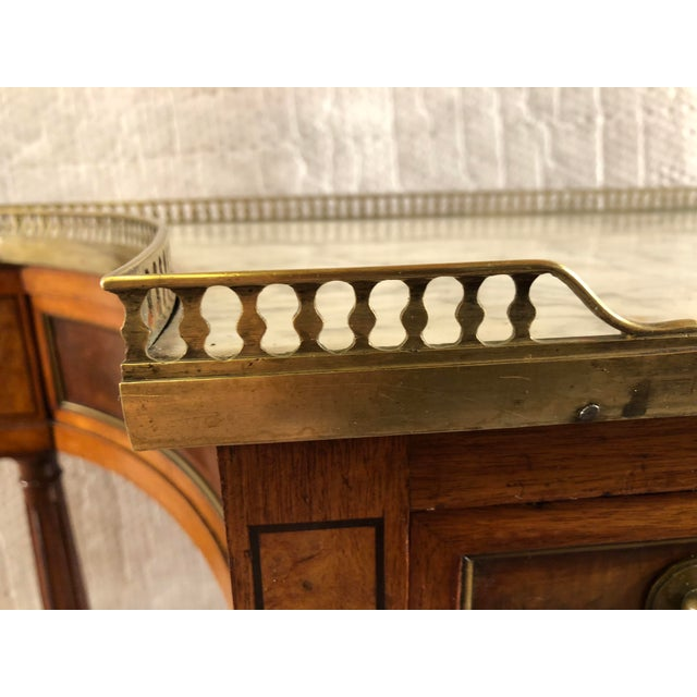 Early 19th Century French Louis XVI Console Table c.1800 For Sale - Image 5 of 9