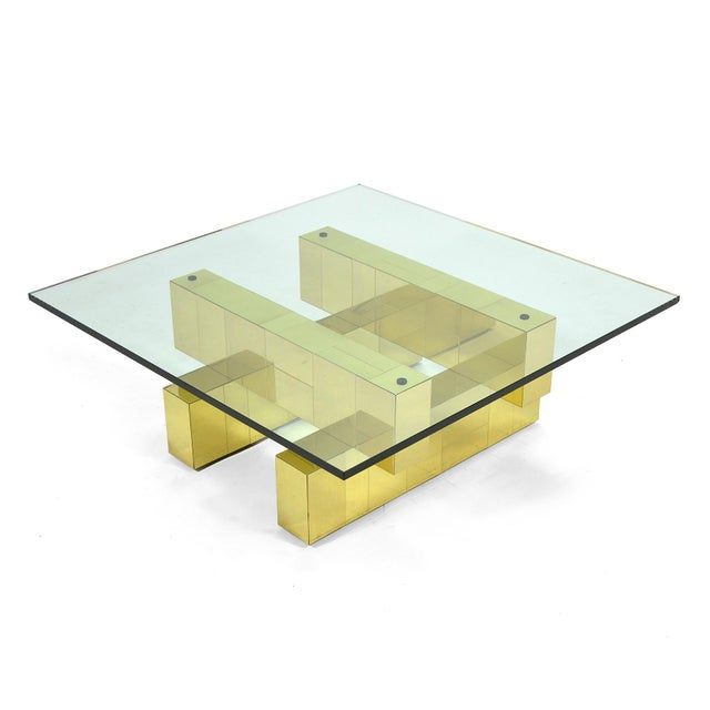 Directional Paul Evans Cityscape Coffee Table by Directional For Sale - Image 4 of 11