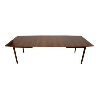 "Mid-Century Modern 104"" Walnut Dining Table"