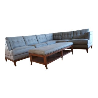Vanguard Witaker Sectional & Ottoman For Sale