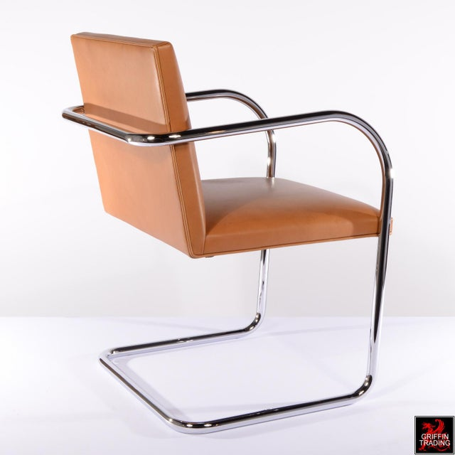 Six Mies Van Der Rohe Brno Armchairs by Knoll For Sale In Dallas - Image 6 of 13