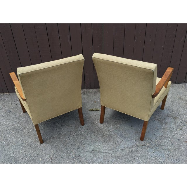 Art Deco Club Chairs - Pair - Image 7 of 10