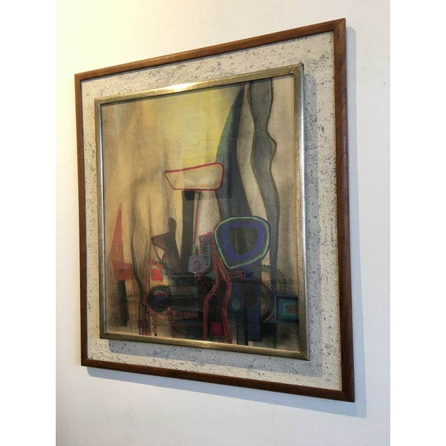 Modern Interiors Abstract Painting - Image 4 of 10