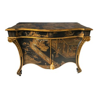 Baker Stately Homes Chinoiserie Commode For Sale