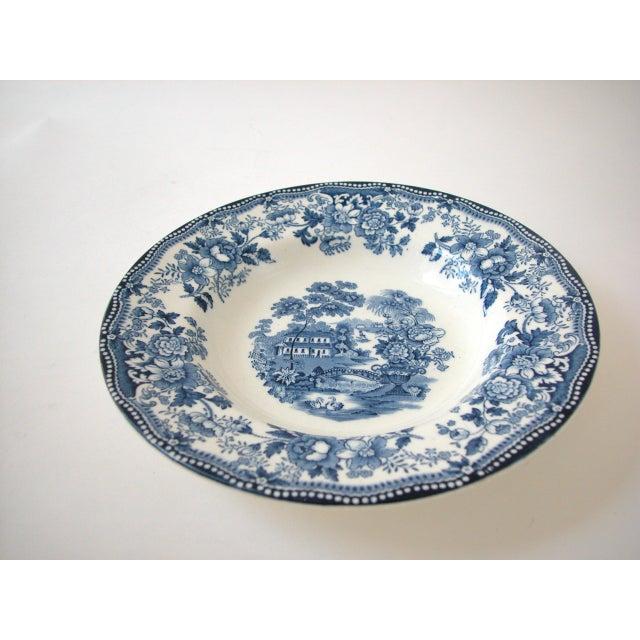 Blue & White Royal Staffordshire Bowls - Set of 8 - Image 3 of 11