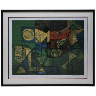 Roberto Burle Marx Abstract Print For Sale