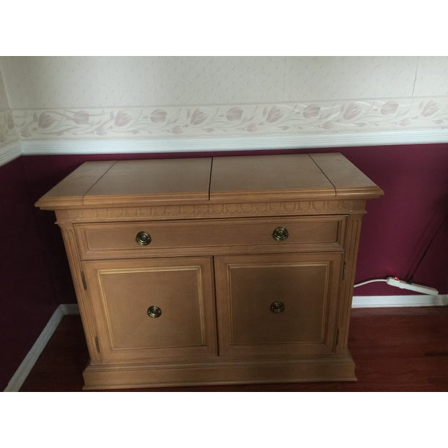 Dining Room Hutch For Sale: Thomasville Formal Dining Room Oak Hutch Or Buffet Table