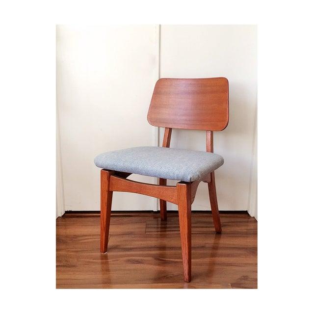 1950s Mid Century Teak Chair - Image 3 of 8