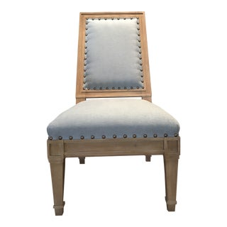 Modern Bunny Williams Home for Wesley Hall Petite Madison Chair For Sale