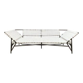 Patio Stretch Daybed by Richard Frinier for Brown Jordan For Sale