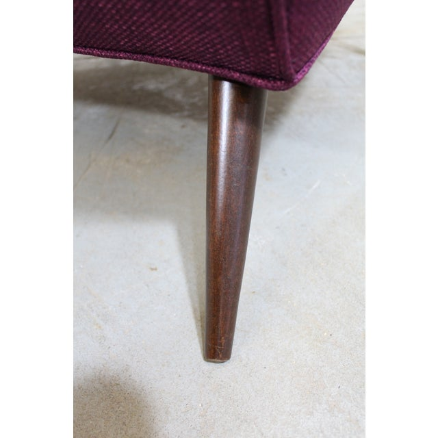 Pair of Mid-Century Modern Paul McCobb Style Lounge Chairs For Sale - Image 9 of 12