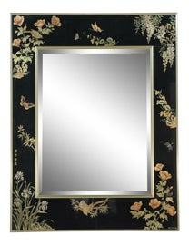 Image of Hollywood Regency Mantel and Fireplace Mirrors