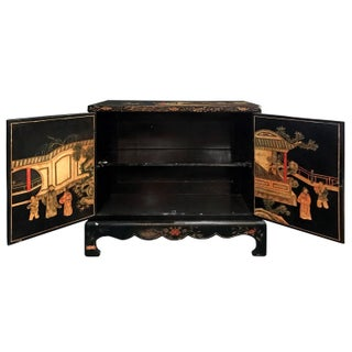 Midcentury Carved Chinoiserie Cabinet Preview