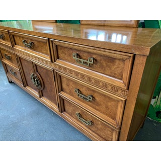 """Asian Chinoiserie Burl Dresser """"Mandarin"""" Collection by Henry Link Preview"""