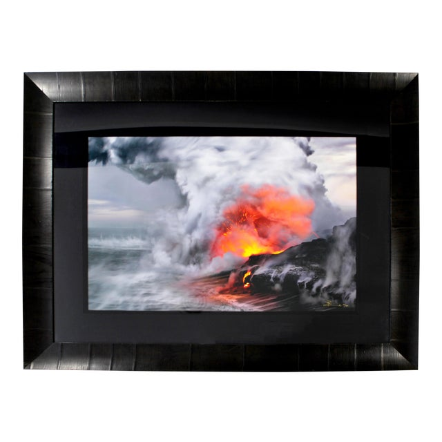 Sophisticated Contemporary Pele\'s Whisper Framed Photograph by Peter ...