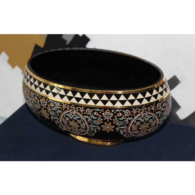 Islamic Turkish Ottoman Decorative Bowl For Sale - Image 3 of 5